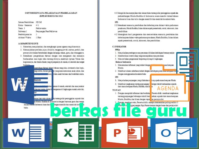 RPP Silabus PROMES PROTA Kelas 4 SD Format Words Kurikulum 2013