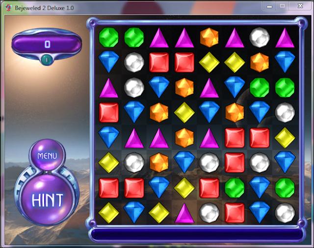تحميل لعبه Bejeweled 2 Deluxe الجواهر المتشابهه للكمبيوتر