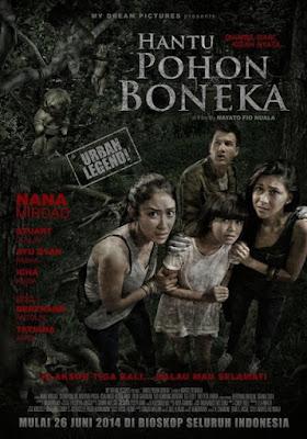 Poster Film Hantu Pohon Boneka