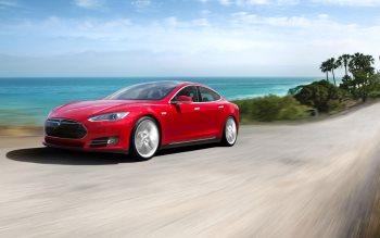 Wallpaper: Tesla S