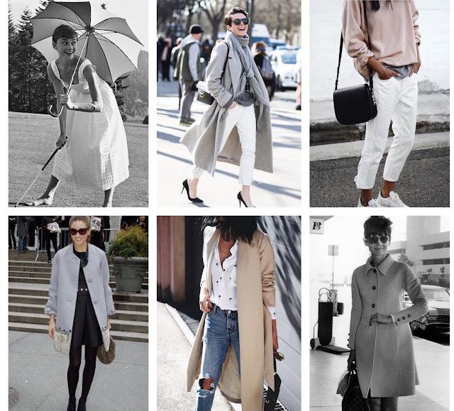Inspiracje modowe styl stylizacje autorytety moda ubiór inspirować się audrey hepburn garance dore olivia palermo inspirowanie szukać inspiracji jak znaleźć swój styl