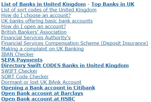 United Kingdom Banks