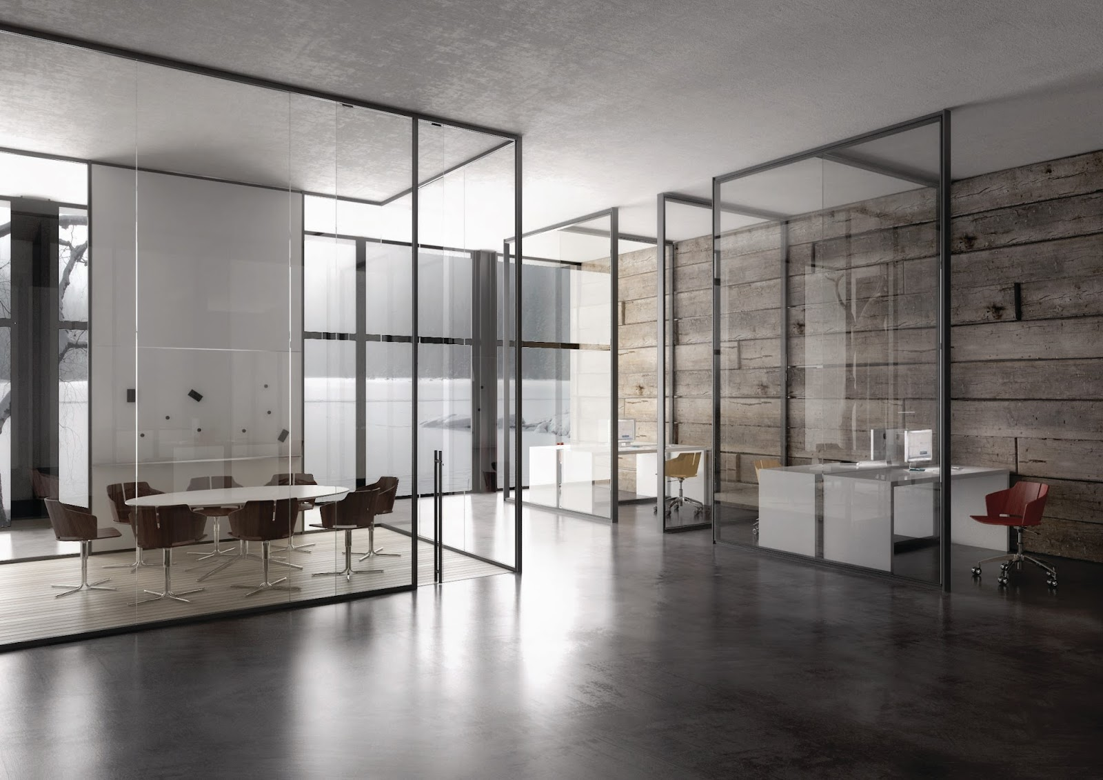 Ultimate office interiors for Ultimate office design