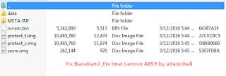 Fix Baseband & Fix Imei Lenovo A859