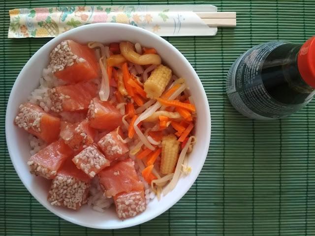 .@SundariRice Poke Bowl de salmó