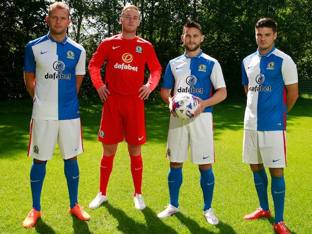 Buy the new blackburn kit and official training wear. Blackburn Rovers 15 16 Home And Away Kits Revealed Footy Headlines