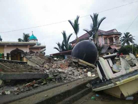 Gempa Pidie Jaya - Aceh 07 Desember 2016