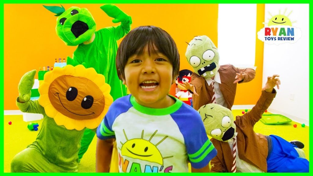 YouTube's youngest star earns $22 million just by unboxing and playing with toys
