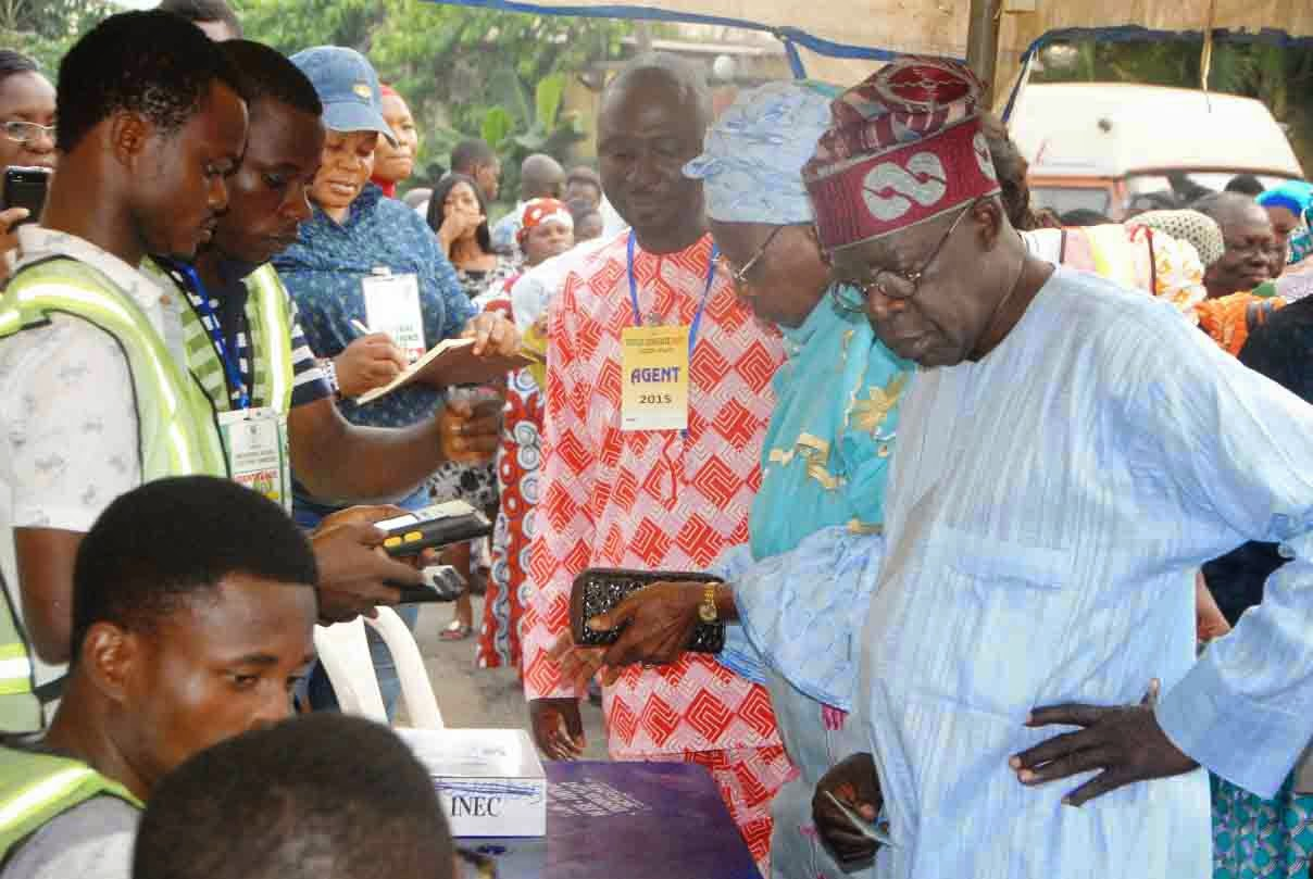 nigerian governorship elections 2015 results inec