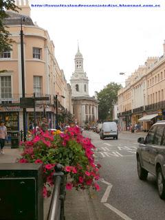 Calles del barrio de Greenwich