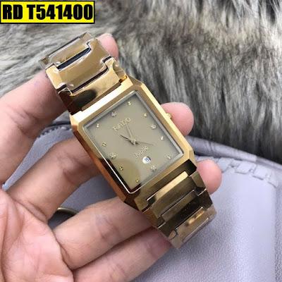 Đồng hồ Rado dây đá ceramic vàng RD T541400