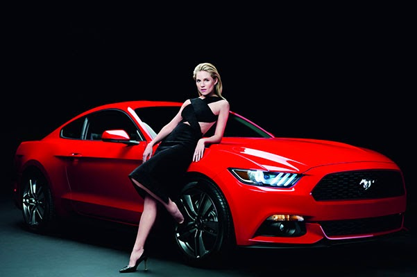 Sienna Miller in car ads