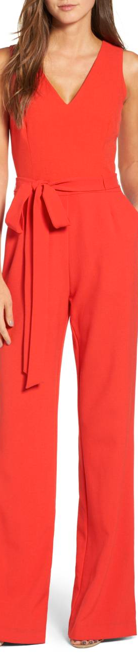 VINCE CAMUTO Jumpsuit in Poppy