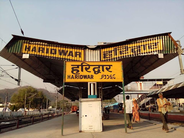 railway at haridwar