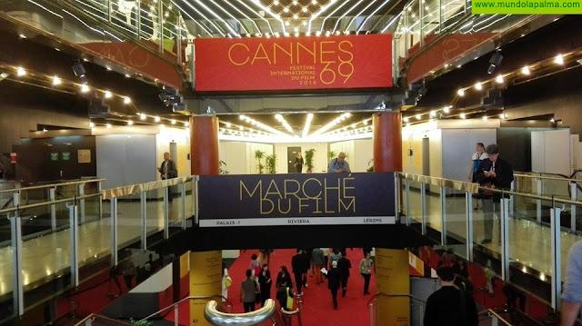 Film Commission participa en el mercado profesional del Festival de Cine de Cannes para atraer productoras a rodar en la Isla
