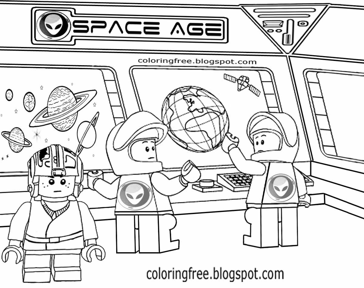 lego spaceship coloring page wwwpixsharkcom images