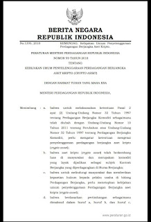 LEGALITAS BITCOIN DI INDONESIA