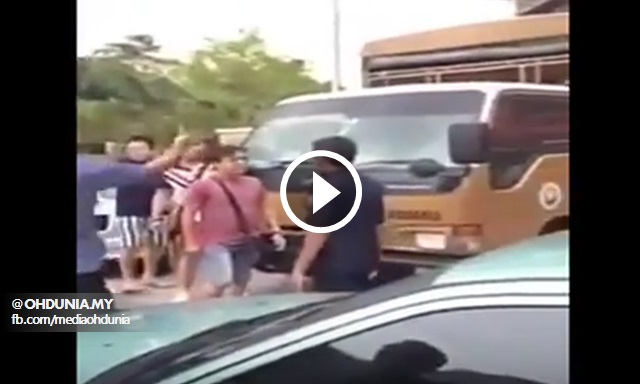 Video: Samseng Tumbuk Dua Penguat Kuasa MBMB