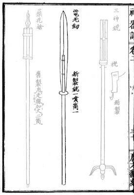 Ming Chinese Lightning Sword