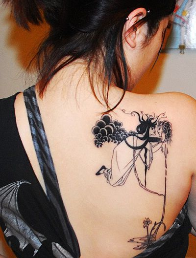 Back tattoos designs for girls: Tumbler of Photos