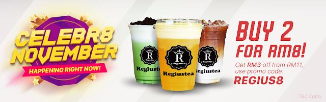 8excite Promo Code Malaysia Regiustea RM4 Discount Offer Promo