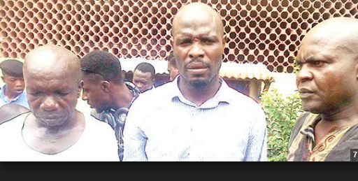 NA WA OO!! Three Men Arrested for Raping & Impregnating 14yrs Old Girl