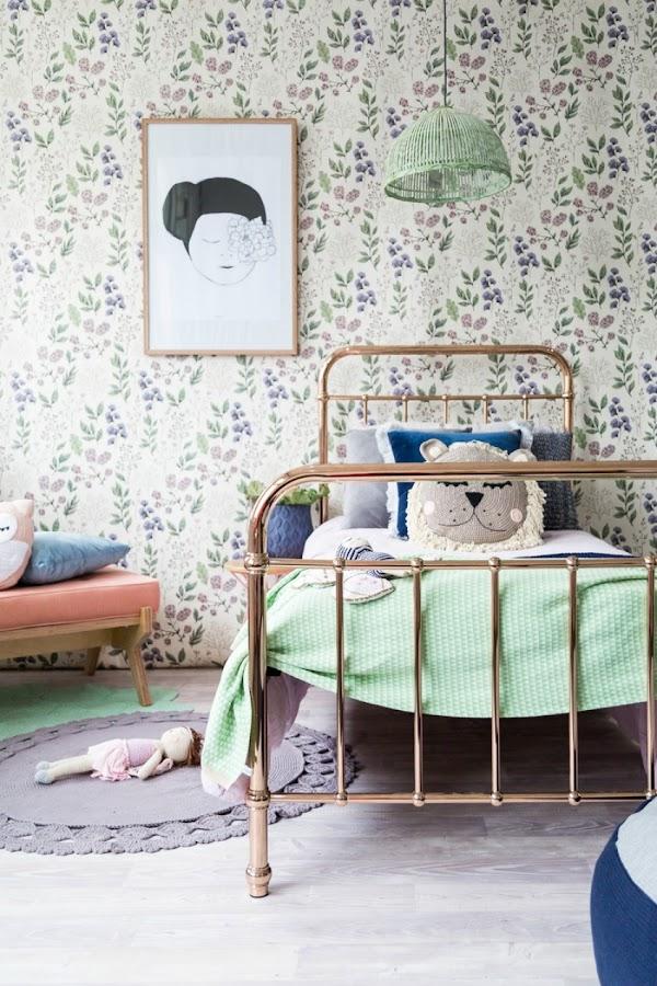 decoracion paredes habitaciones infantiles