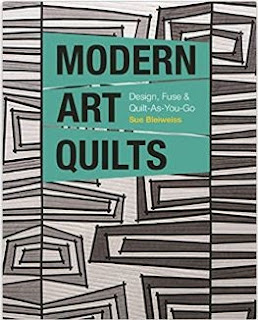 MODERN ART QUILTS-QUILT BOOK-FABRIC ART-QUILTING