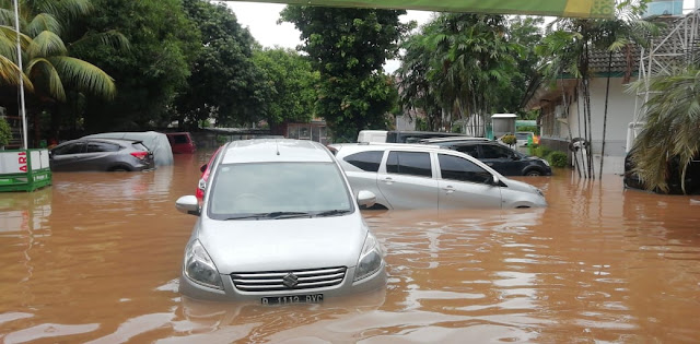 Oh Gini Rasanye Kebanjiran di Jakarta