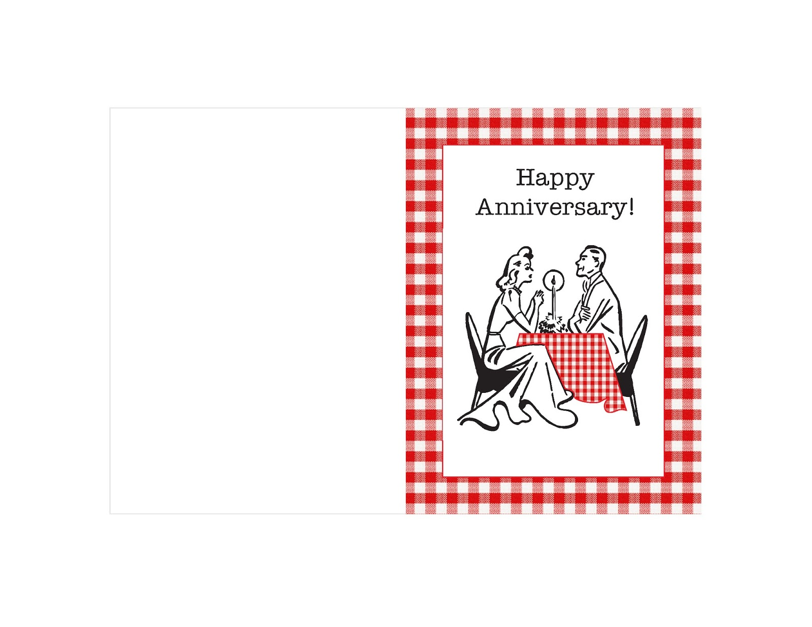 This is an image of Happy Anniversary Card Printable inside elegant