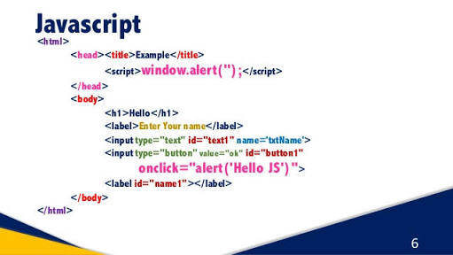 Example Of Javascript Code Ss Web