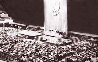 Suasana sidang umum mprs III tahun 1965
