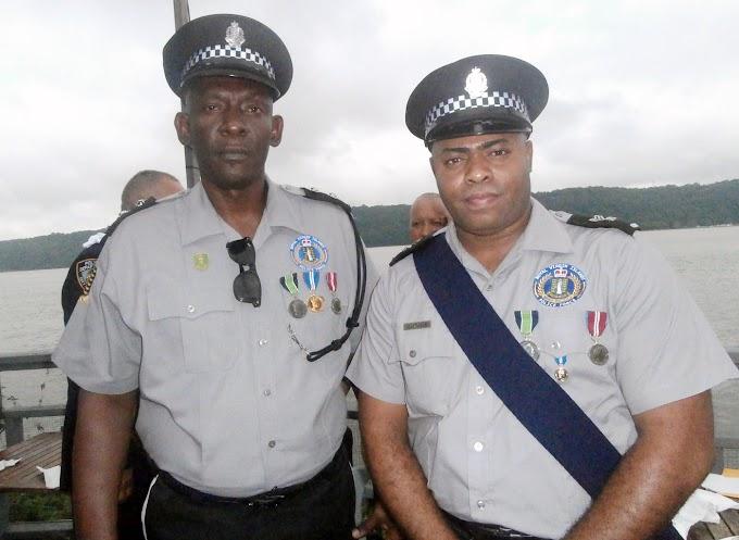 Dominicanos se destacan como comandante de zona y sargento en la policía de Islas Vírgenes Británicas