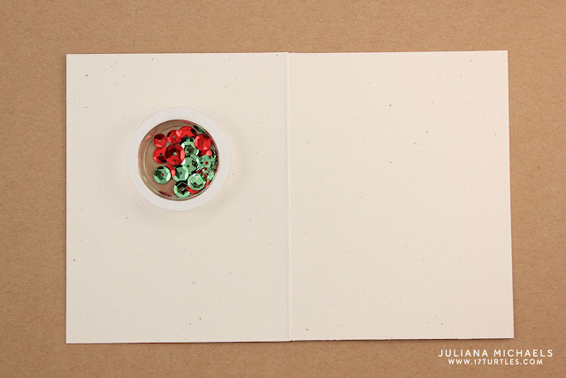 Jillibean Soup Holiday Shape Shaker Card Tutorial by Juliana Michaels