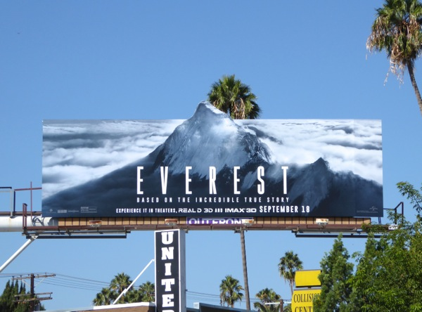 Everest special extension movie billboard