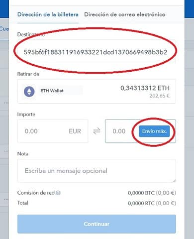 enviar ethereum a kucoin para comprar raiblocks