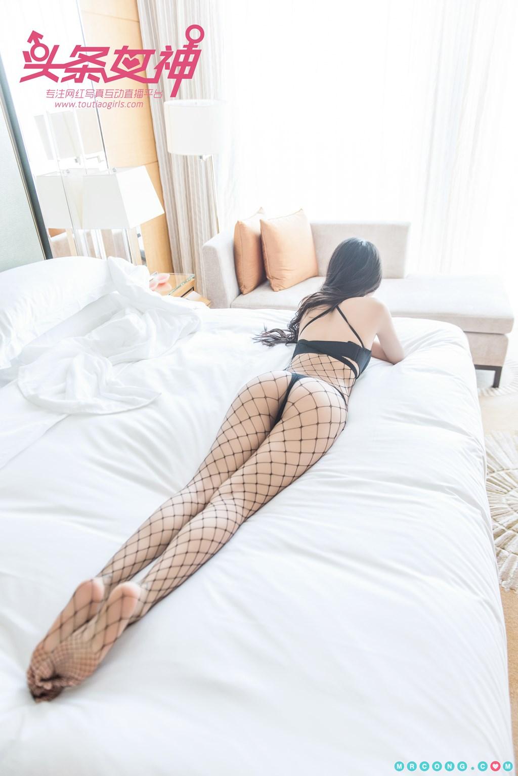 Image TouTiao-2017-10-05-Ru-Yi-MrCong.com-009 in post TouTiao 2017-10-05: Người mẫu Ru Yi (如意) (26 ảnh)