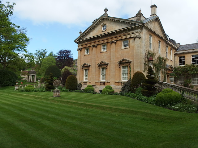 Belcombe Court in its garden setting