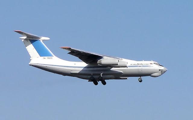 Gambar 30. Foto Pesawat Angkut Militer Ilyushin Il-76