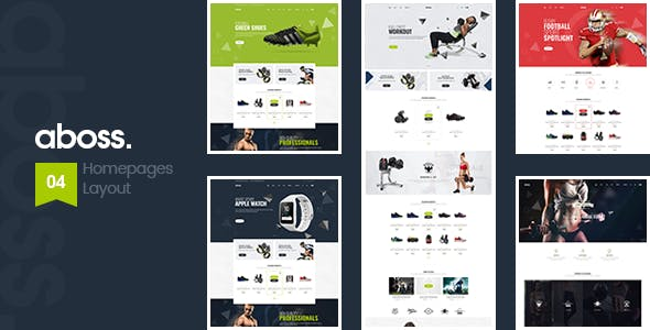 Download Free Aboss v1.1.2 – Responsive Theme for WooCommerce