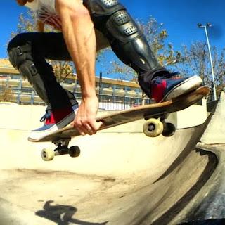 Mark Jansen Skateboarding Adelaide Grab