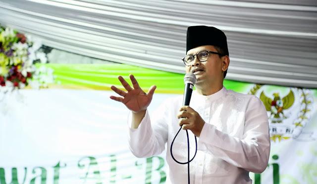 Staf Ahli Menteri Bidang Komunikasi dan Media Massa Kementerian Kominfo RI, Drs. Gun Gun Siswadi