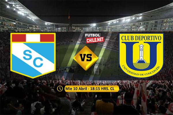 PREVIA: Sporting Cristal vs Universidad de Concepción
