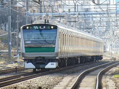【都心のチョン行】埼京線のE233系池袋行き