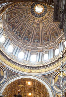 cupola interior sao pedro city tour guia brasileira - Cinco obras de arte da Basílica de São Pedro