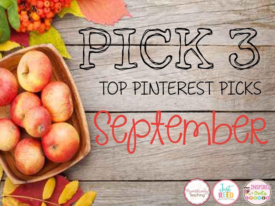September Pick 3: Great Classroom Ideas for September