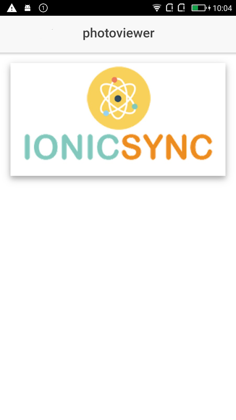 IONICSYNC | All about implementing stuff in ionic framework