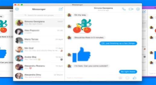 برامج و إضافات لتشغيل ماسنجر فيسبوك Facebook Messenger على