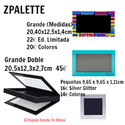 PALETAS CUSTOMZABLES