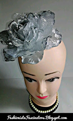 Silver fascinators in Kenya